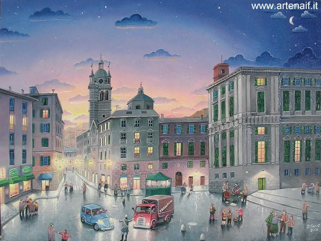 Folk art naive art marino di fazio home page italian for Paesaggi bellissimi per desktop